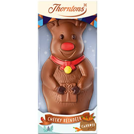 Thorntons Milk Chocolate Reindeer