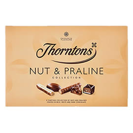Thorntons Nut & Praline Collection Chocolate Box