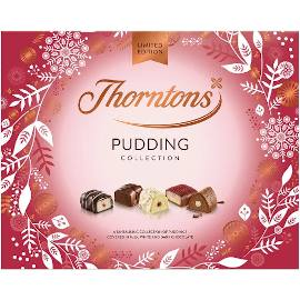 Thorntons Pudding Collection Chocolate Box