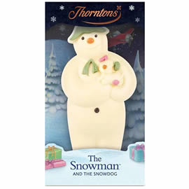 Thorntons White Chocolate The Snowman and The Snowdog