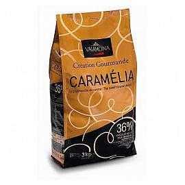 Valrhona Caramelia 36% Milk Chocolate Chips 3kg