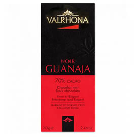Valrhona Noir Guanaja 70% Cacao Dark Chocolate Bar 70g