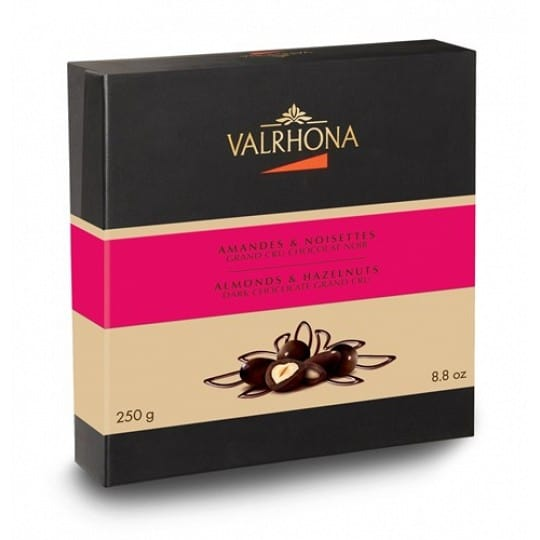 Valrhona Almonds & Hazelnuts Dark Chocolate Grand Cru 250g