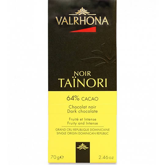 Valrhona Noir Tainori 64% Cacao Dark Chocolate Bar 70g