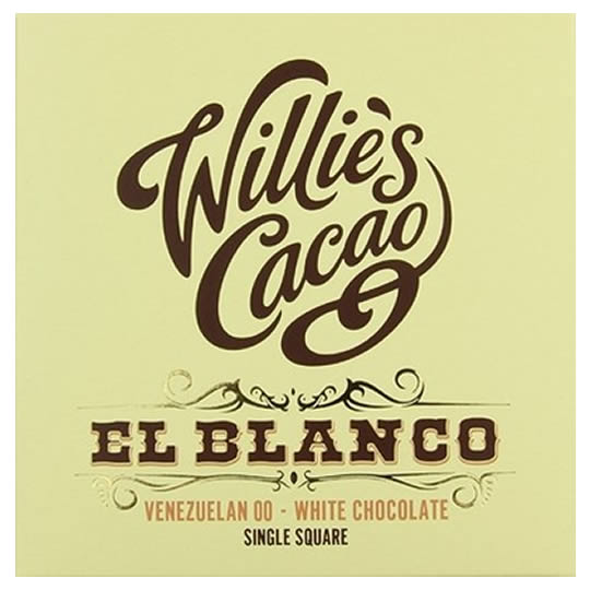 Willie's Cacao El Blanco Venezuelan 00 White Chocolate Bar
