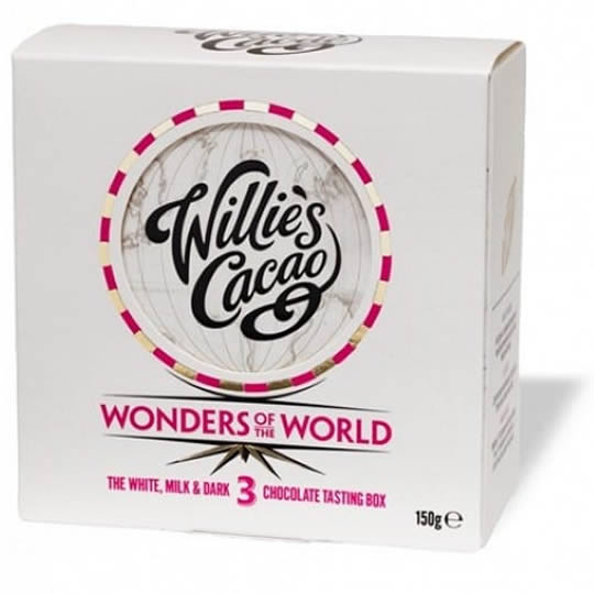 Willie's Chocolate Milk, White and Dark Chocolate Wonders of the World